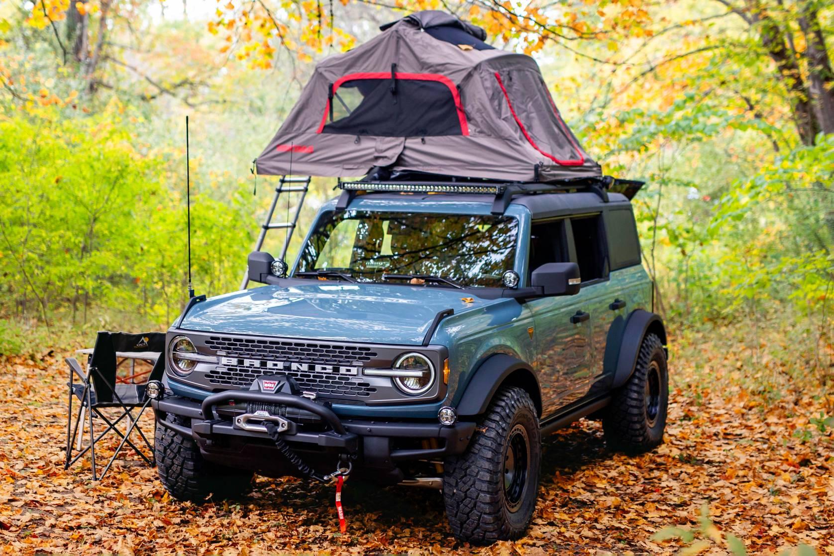 2021 Ford Bronco Overlander concept