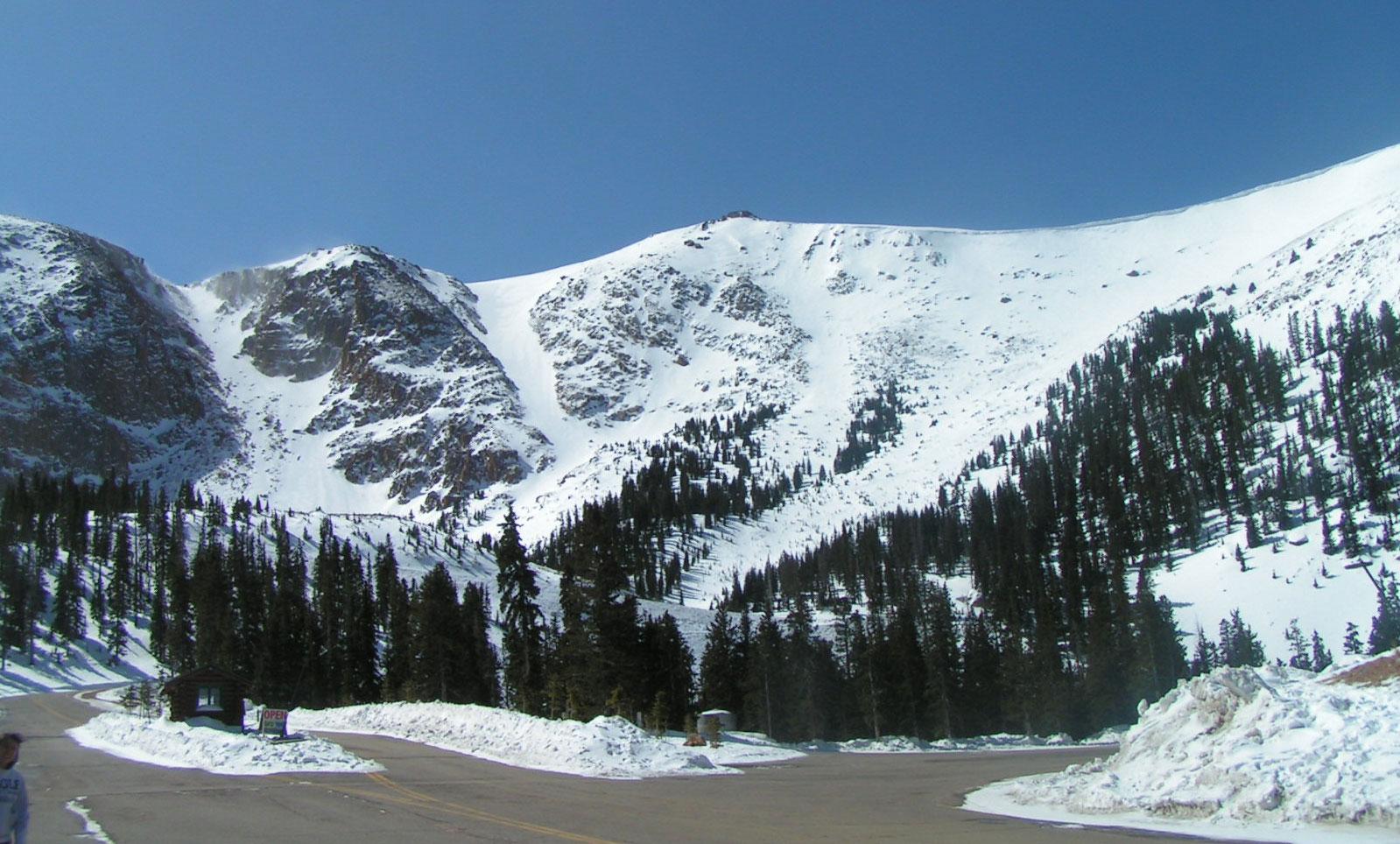 Backcountry Skiing in Colorado: Pike's-Peak