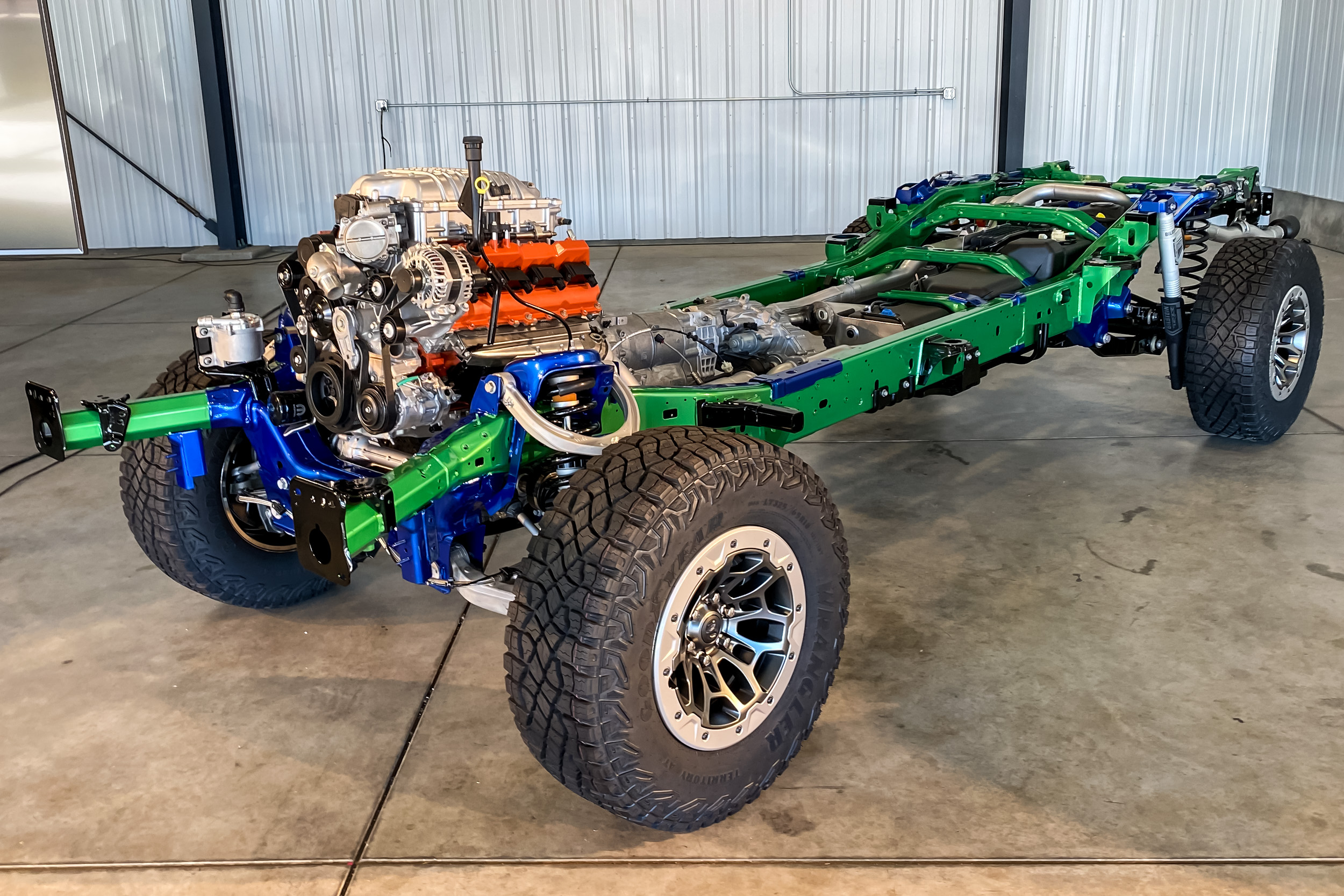RAM TRX chassis