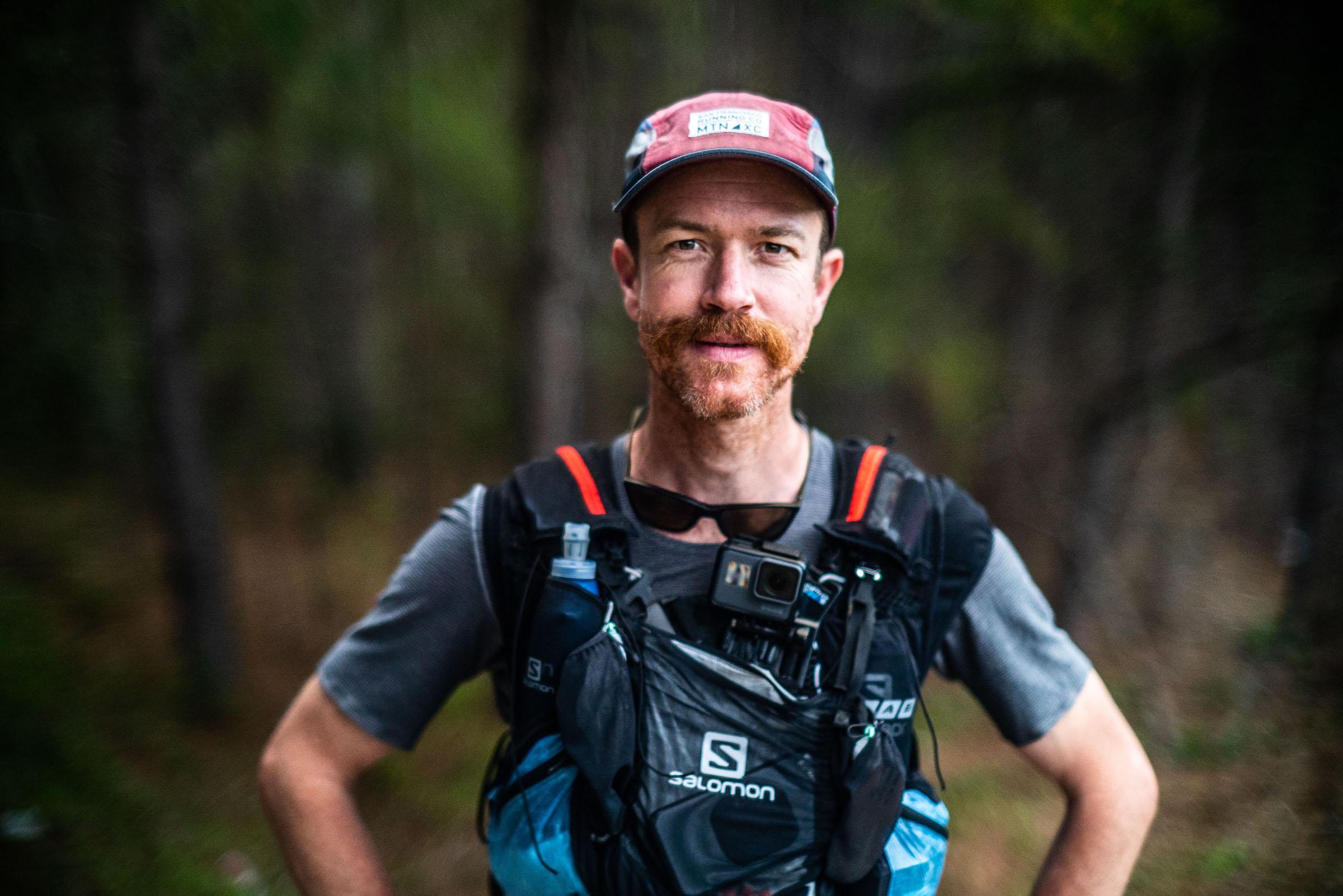 Ricky Gates runner facing camera