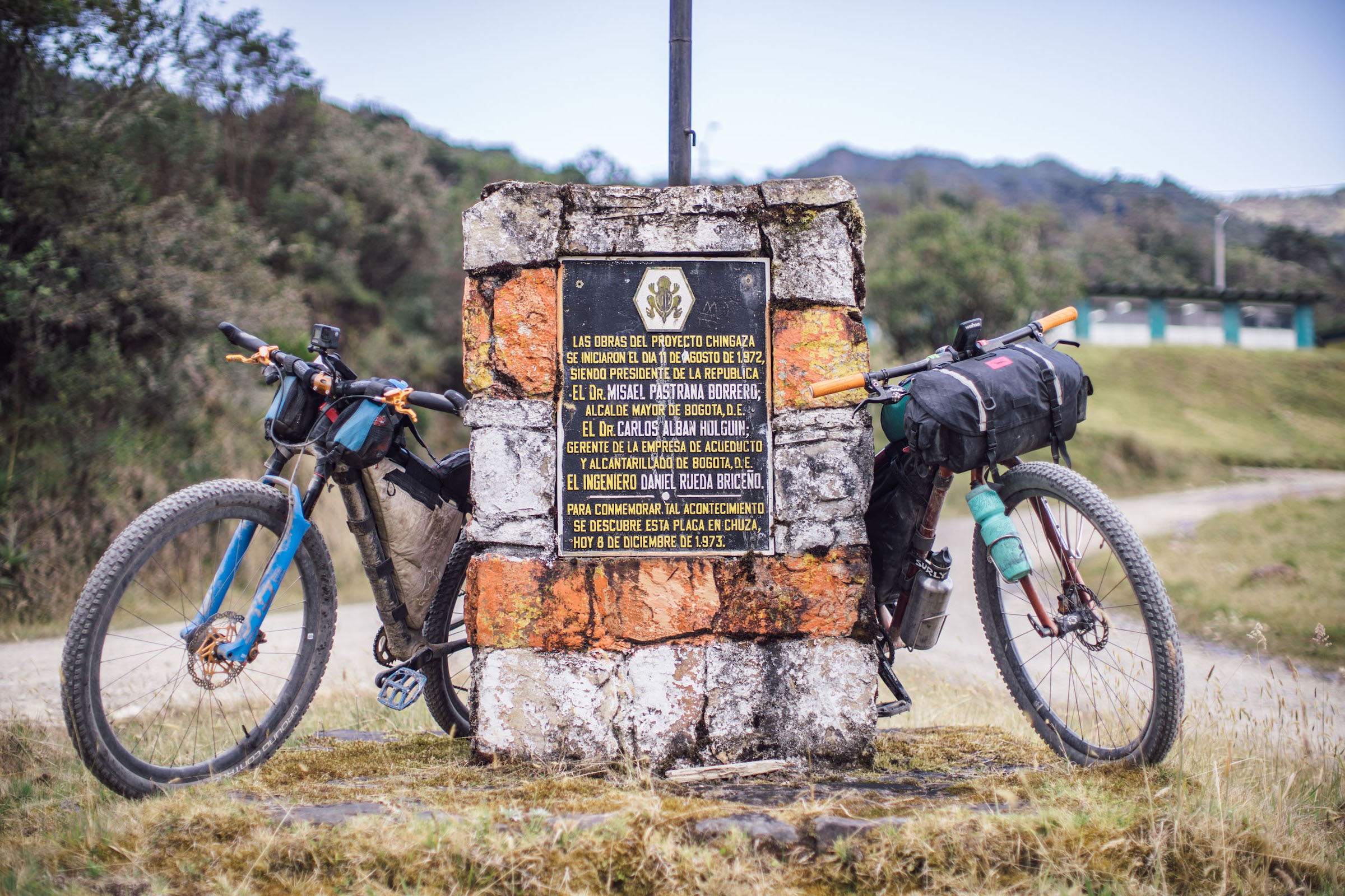 Ruta Chingaza bikepacking route in Colombia