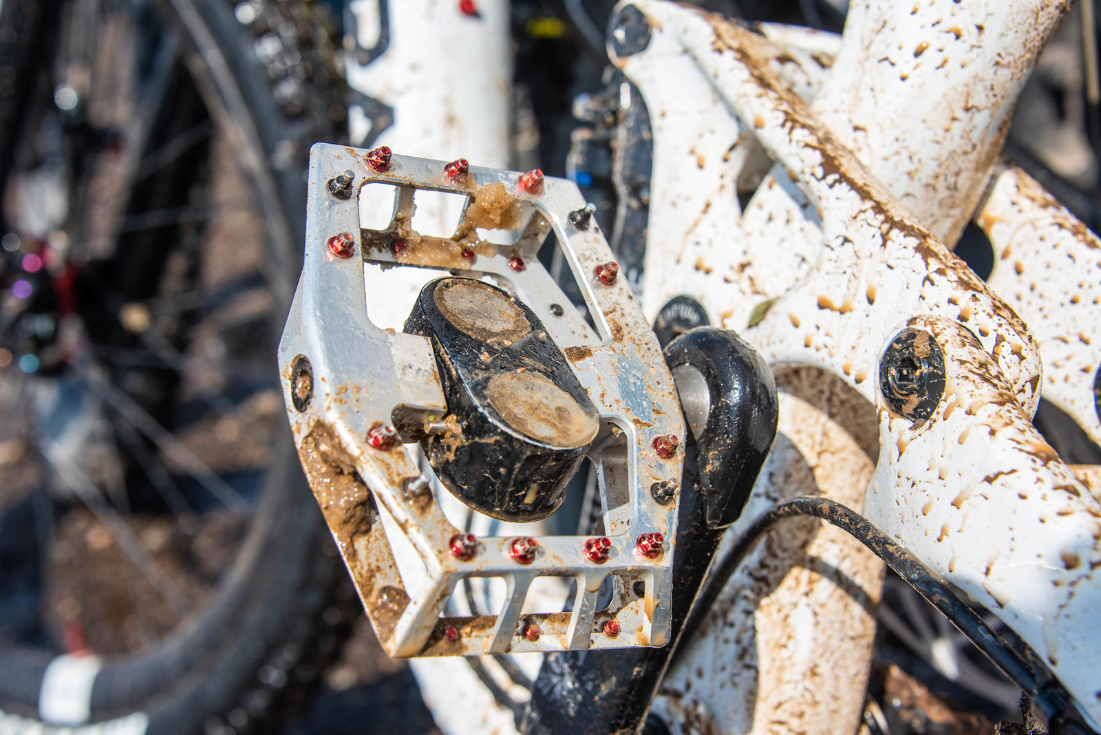testing the pedals