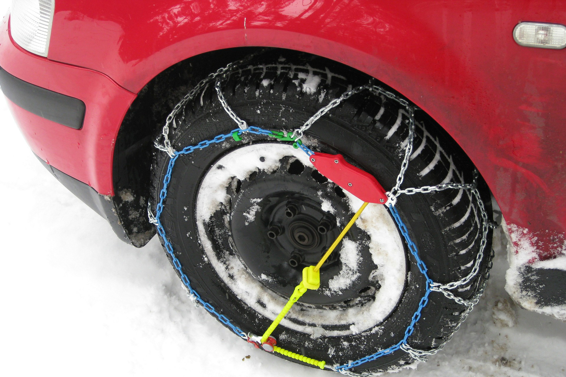 snow chain patterns