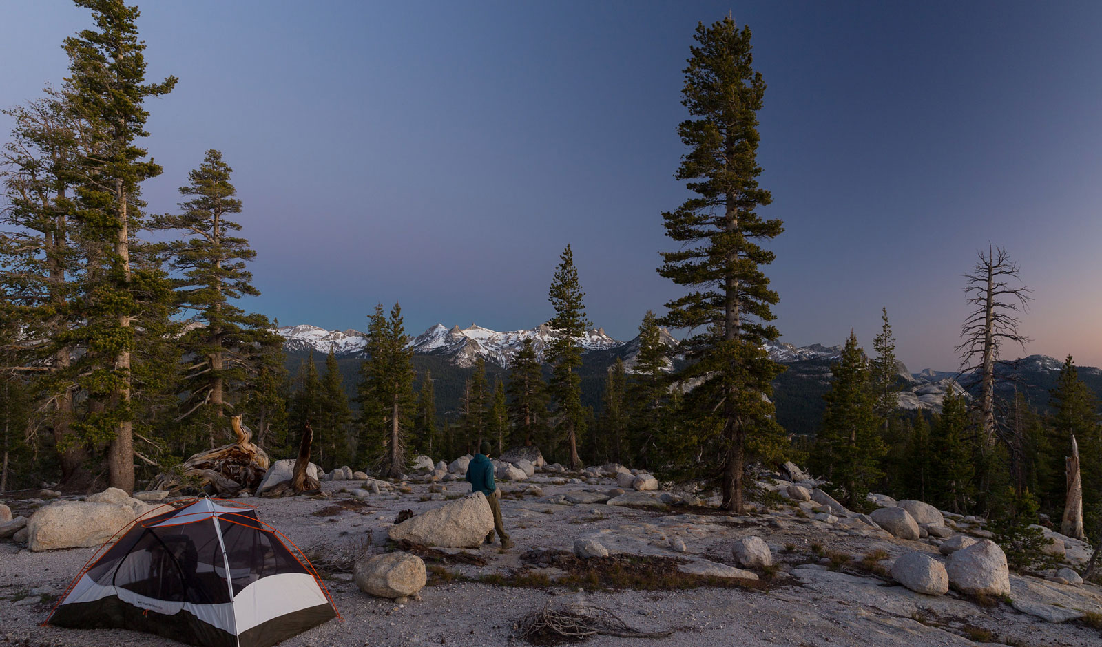 camping view