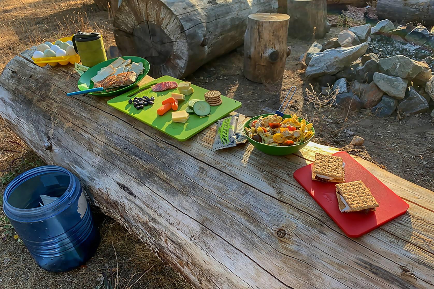 flameless camp meal