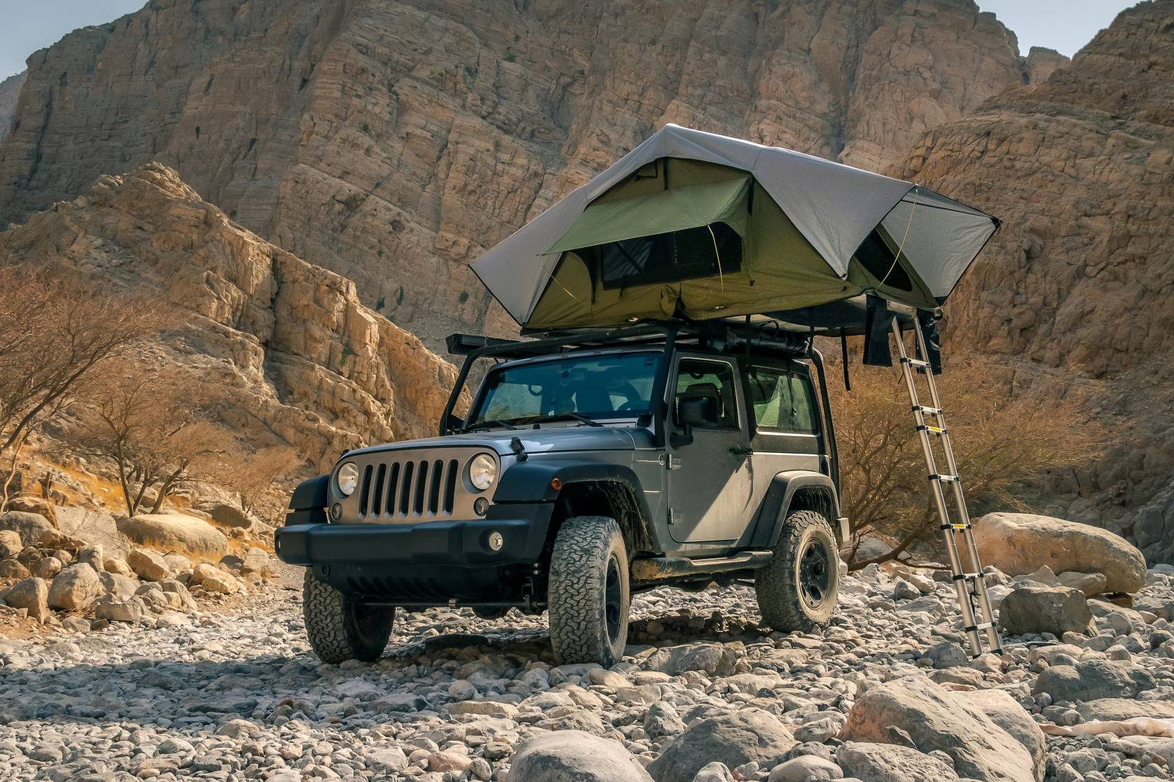 overlanding camping Jeep