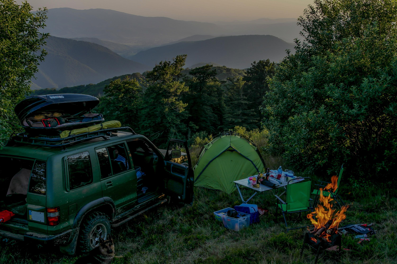 dispersed camping overlanding