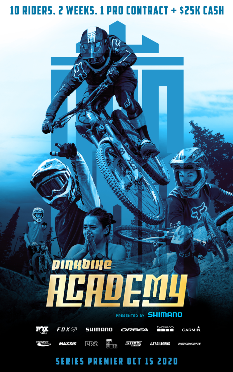 pinkbike shimano academy show poster