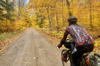 project adventrus bike ride through fall colors