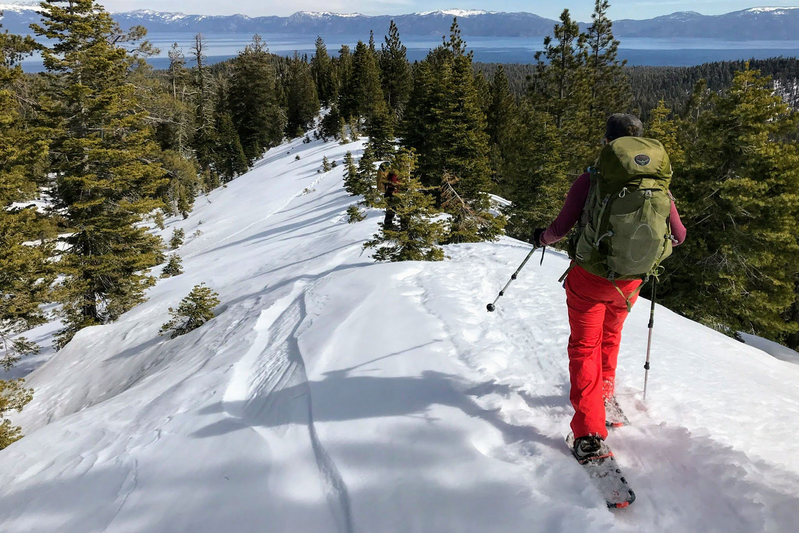 Snowshoes sizing