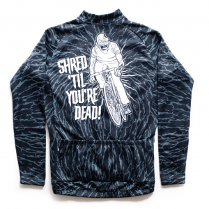 State Bicycle Co. Halloween Long-Sleeve Thermal Jersey