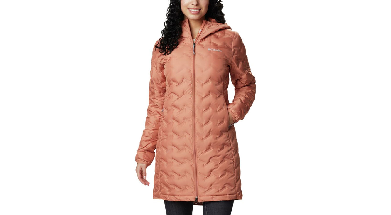 Columbia Delta Ridge Long Down Jacket