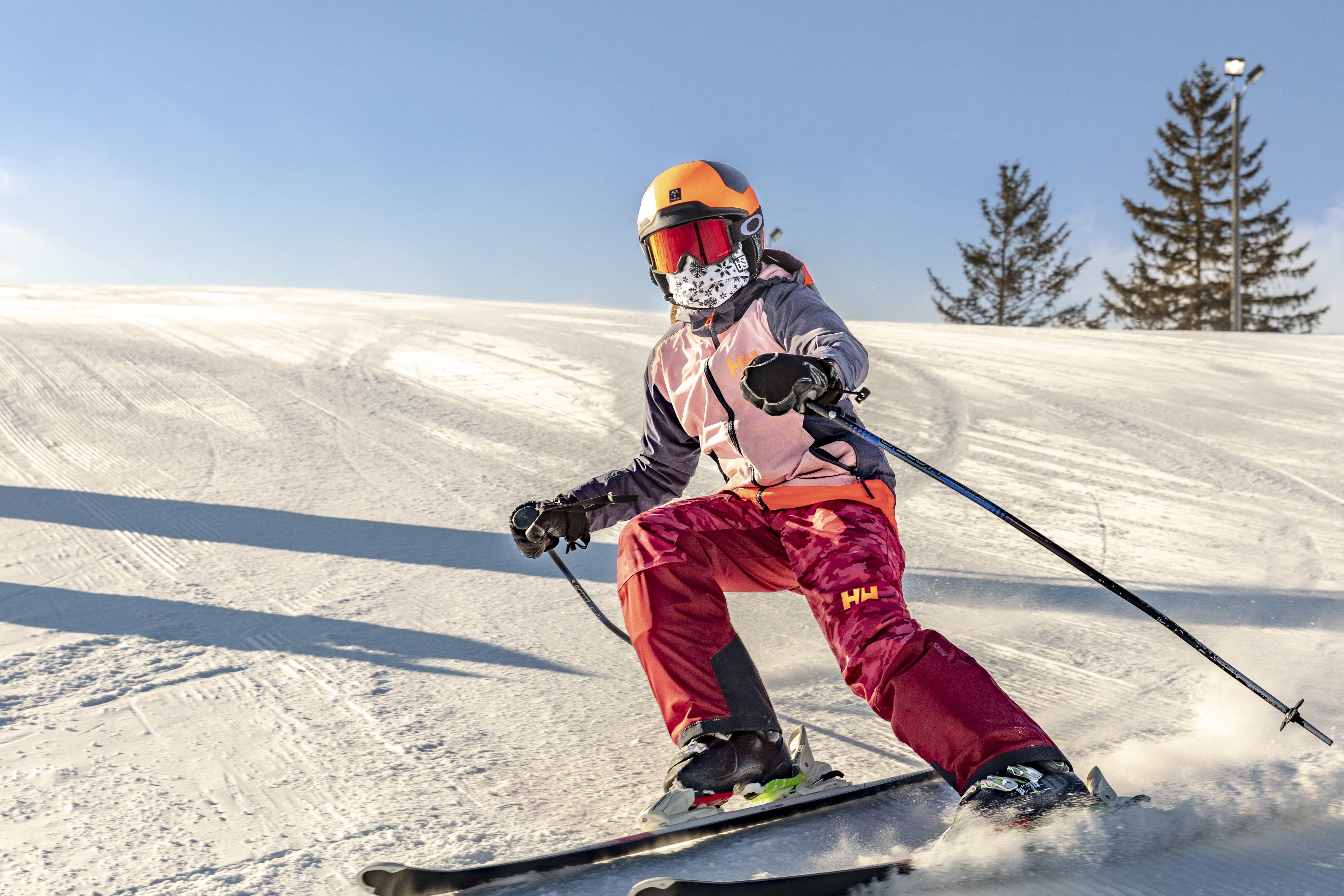 Afton Alps Skier Face Covering 1