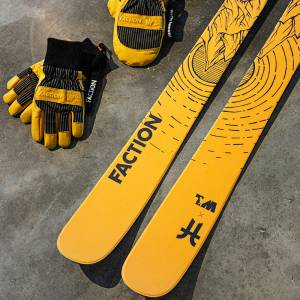 Faction x Wells Lamont Skis
