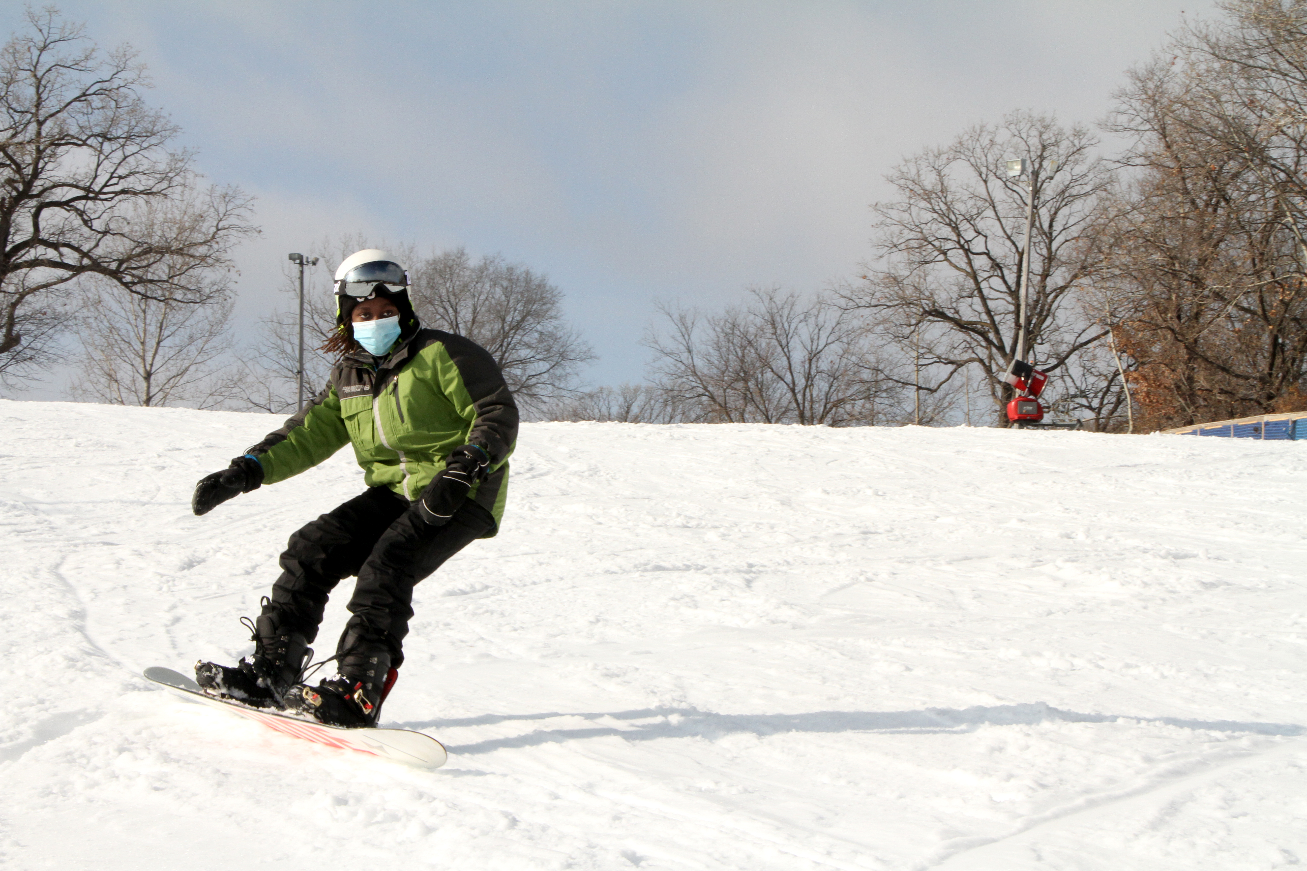 Snowboarding in Minnesota
