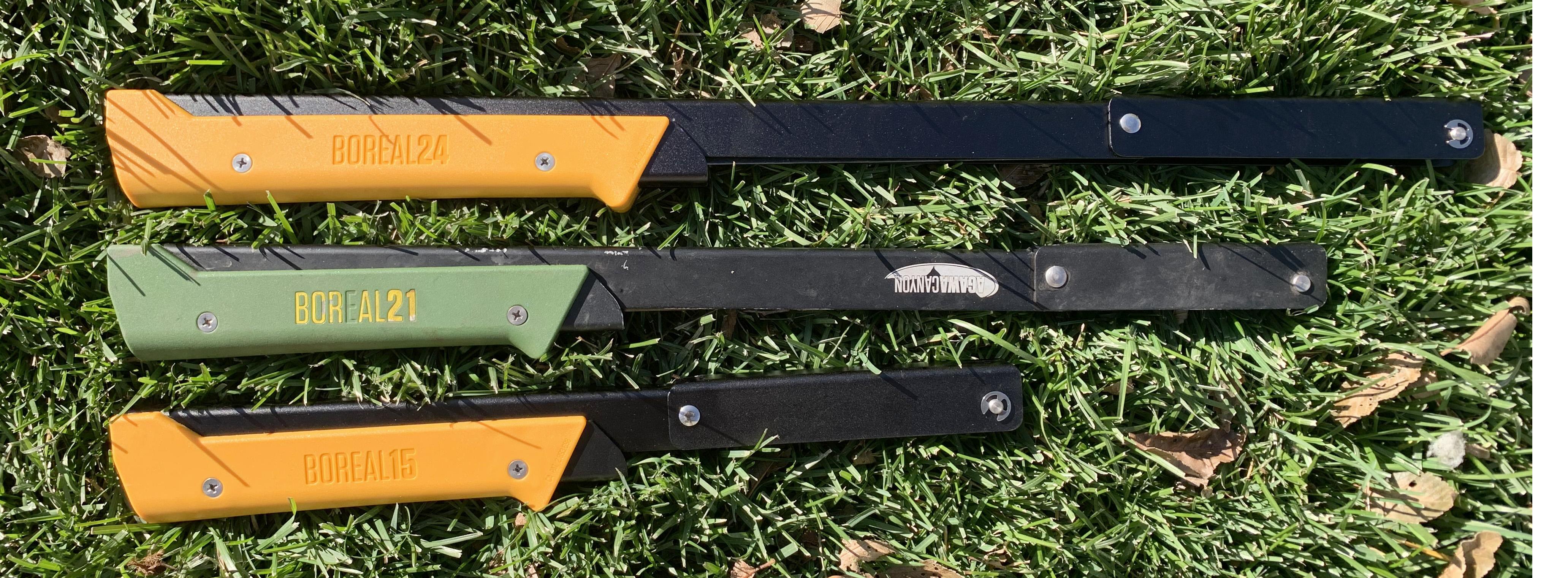 Agawa Canyon folding saws