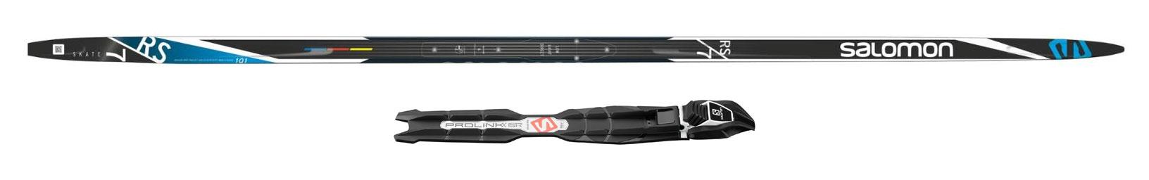Salomon RS 7 Skate Skis with Prolink Bindings