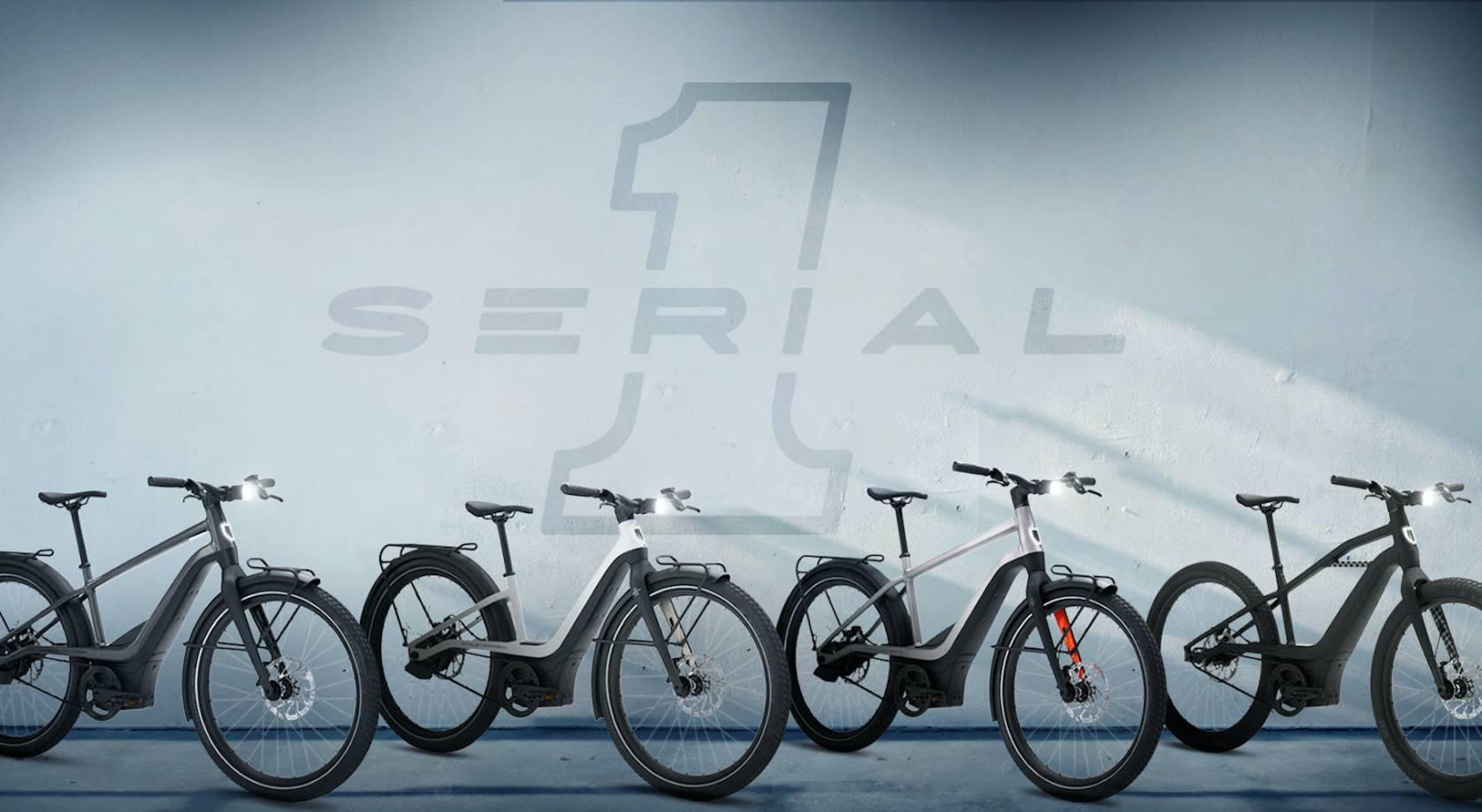 Serial 1 lineup e-bikes