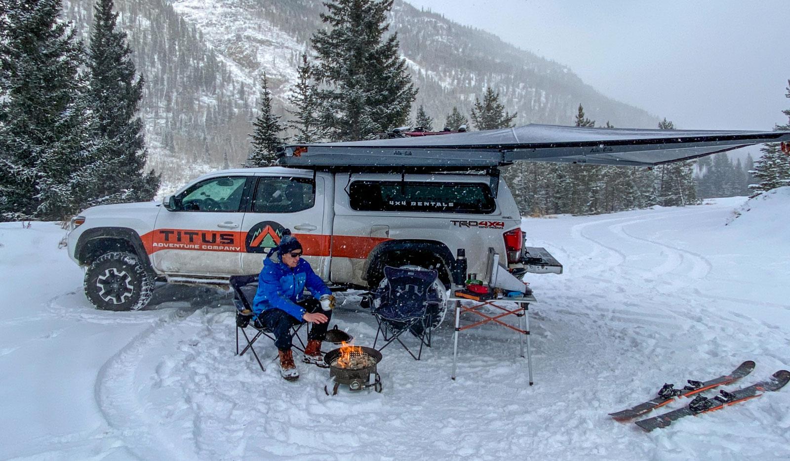 Titus mobile ski lodge