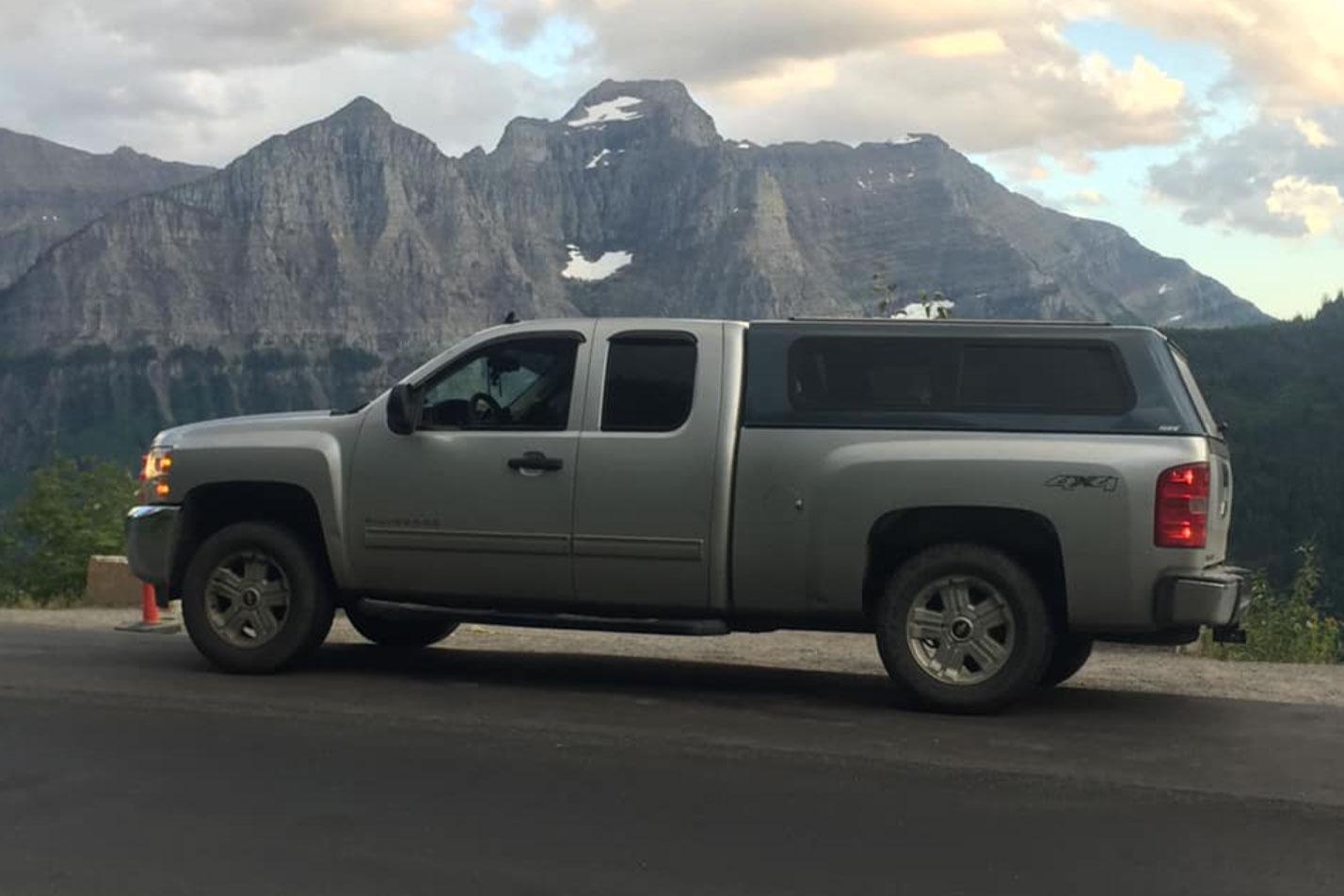 Getting back stolen truck