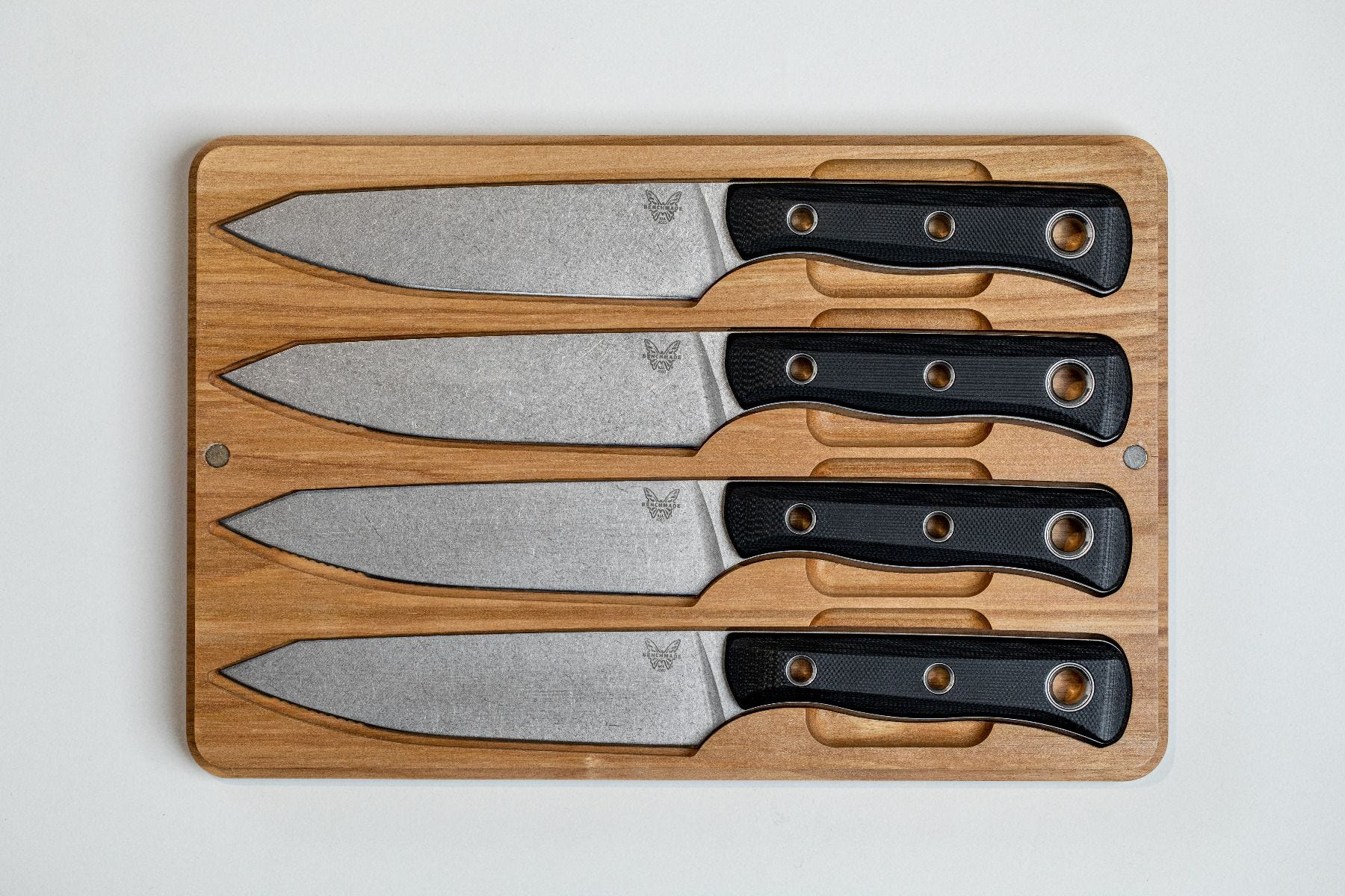 benchmade table knife set box