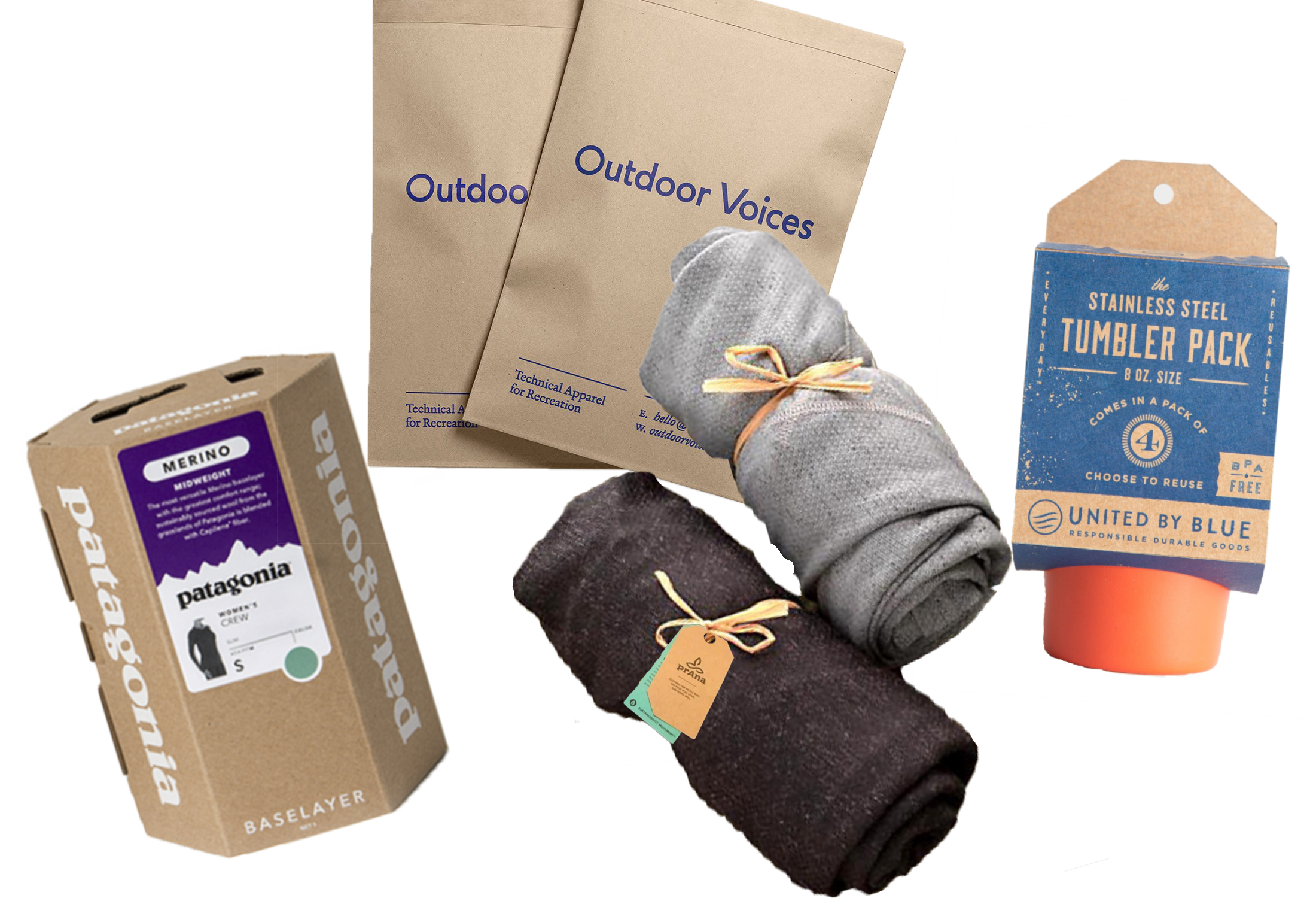 outdoor brands packaging