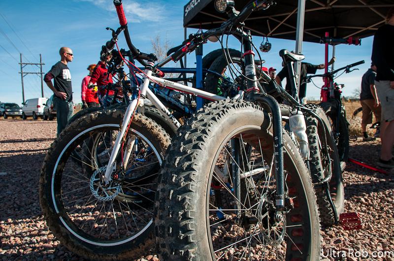 gros pneus de vélo