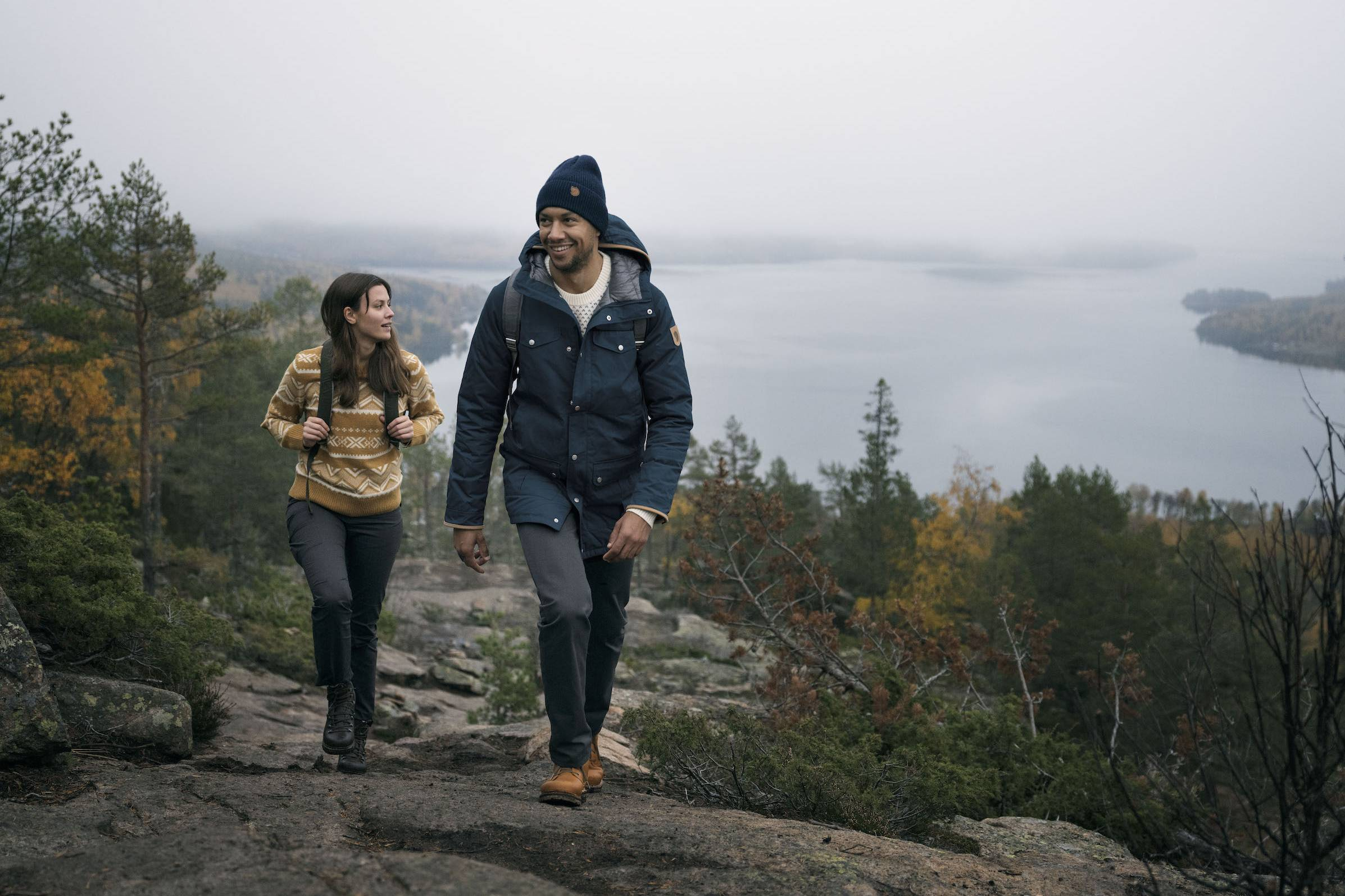 Fjallraven fall hiking