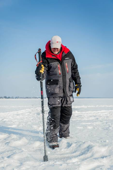 ice fishing chisel