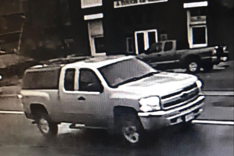 Truck stolen: Surveillance Footage