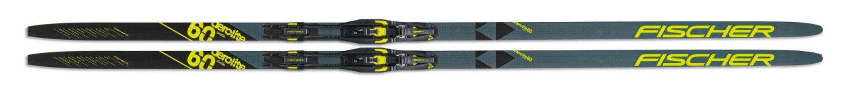 ischer Aerolite 60 Skate Skis with TURNAMIC Bindings
