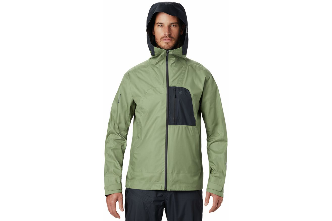 Mountain Hardwear Exposure/2 Paclite Plus rain jacket