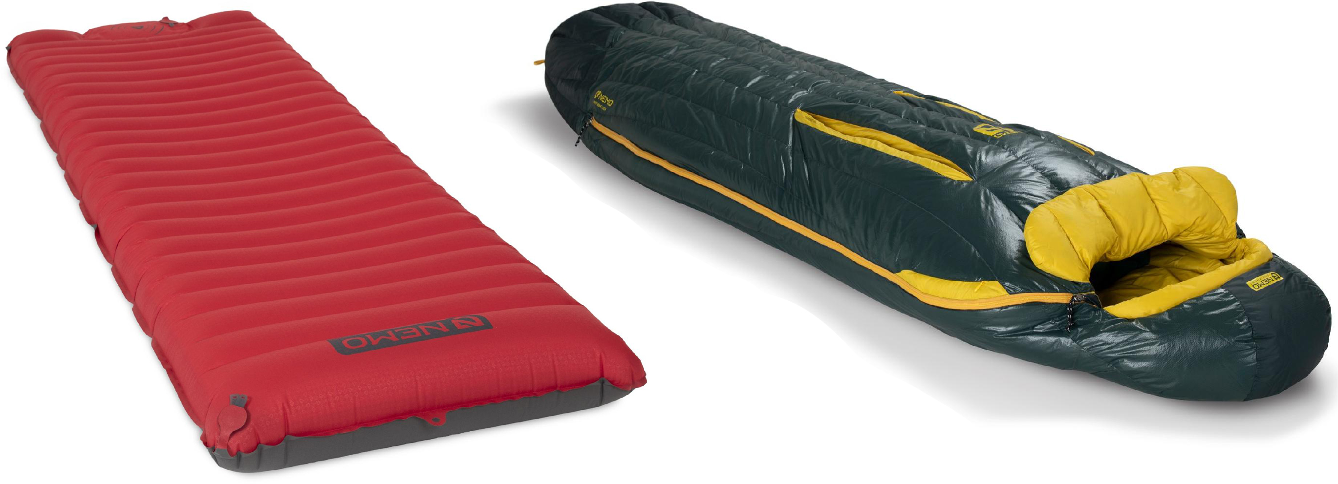 NEMO Sleeping Bag and sleeping pad