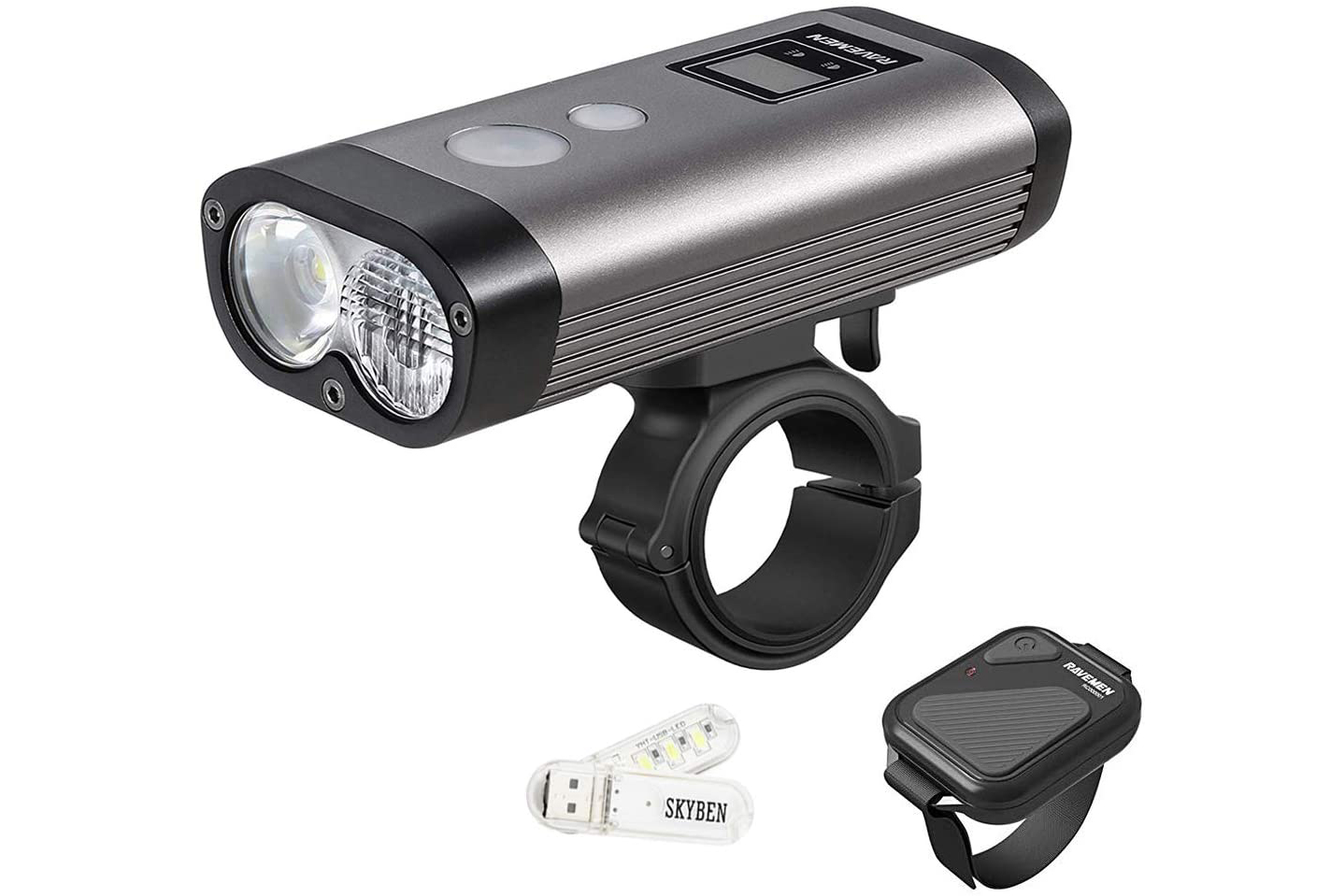 RAVEMEN PR 1600 bike light