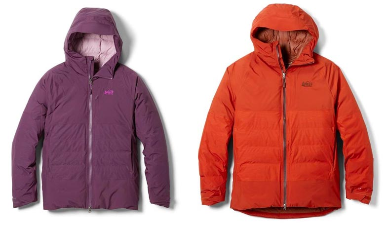 sREI Co-op Stormhenge 850 down jacket