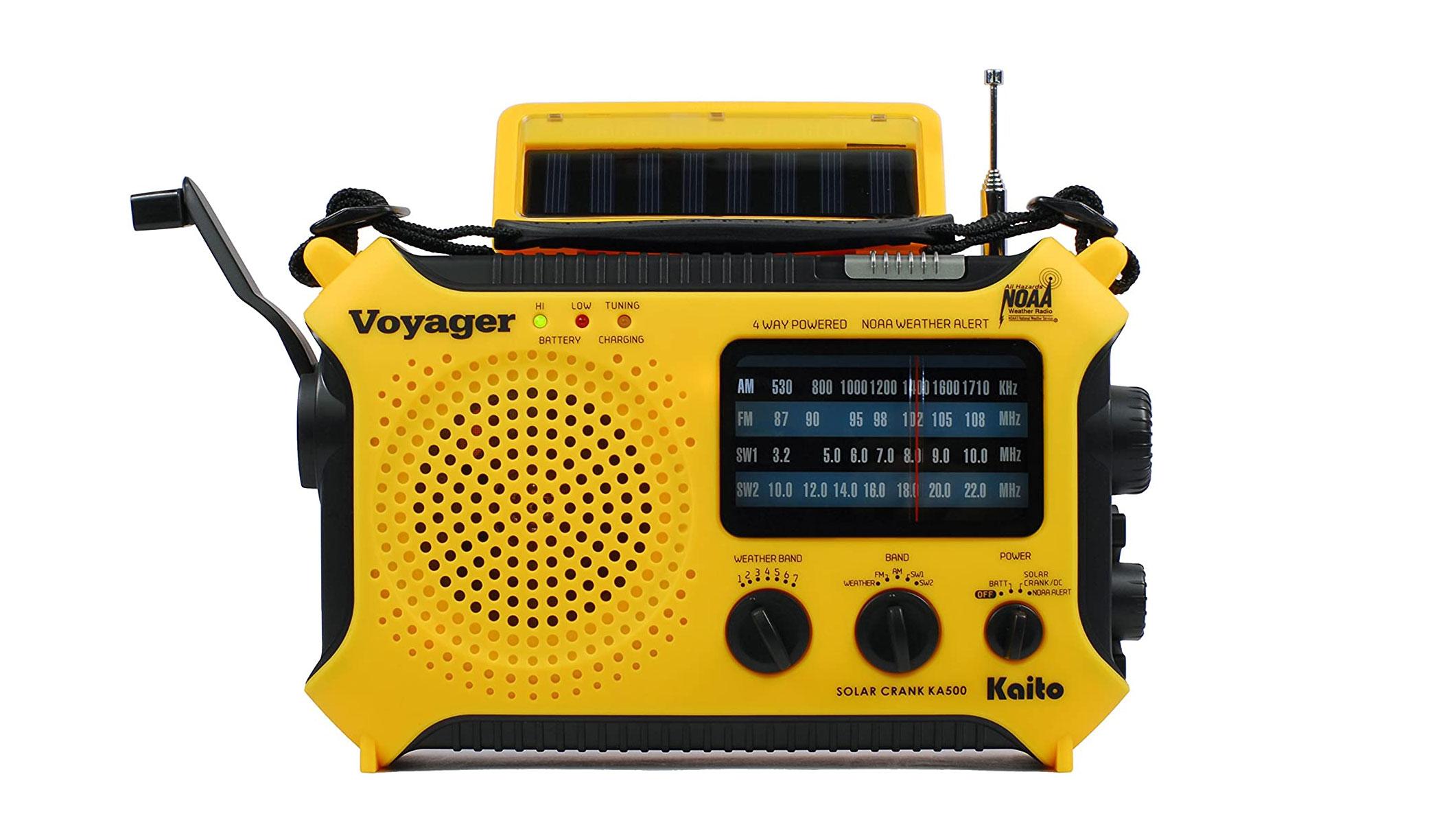 Kaito Ka500 Voyager Emergency Radio