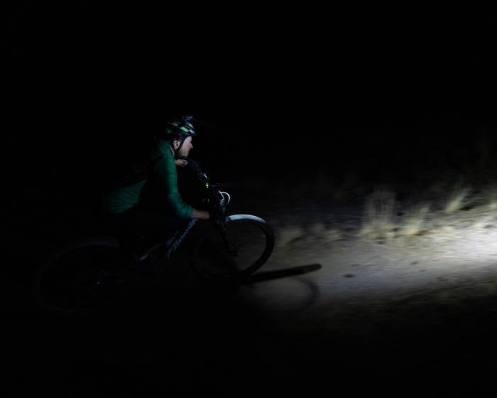 Testing Mountain Bike Lights