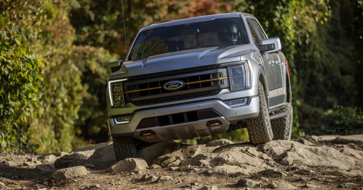 You Don T Need A Raptor You Need A 2021 Ford F 150 Tremor Gearjunkie