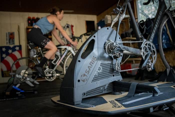 Testing the Saris and Wahoo Bike Trainer