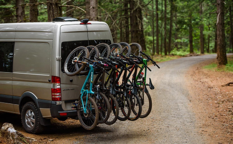 6 Bikes Rack