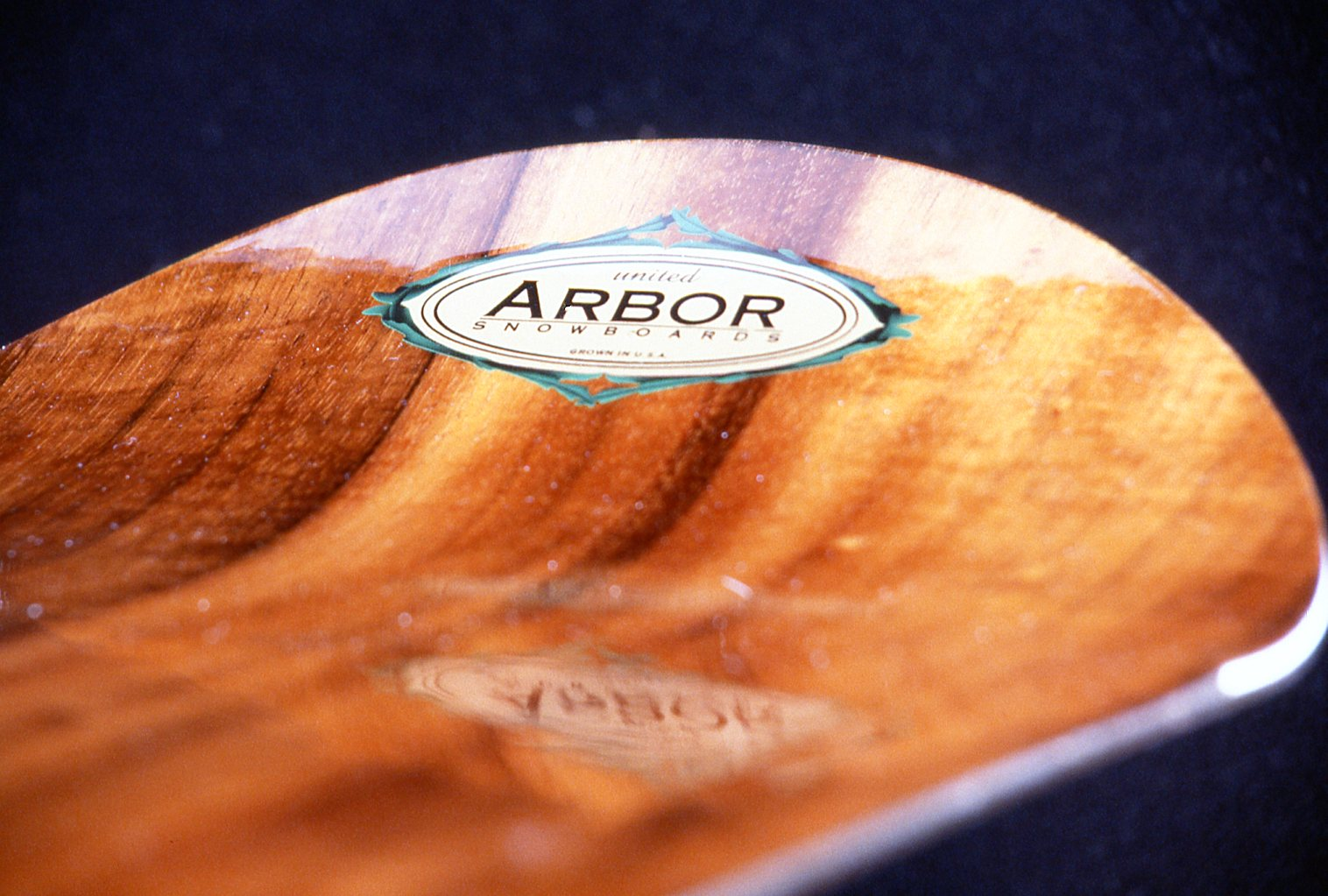 Arbor Collective first snowboard