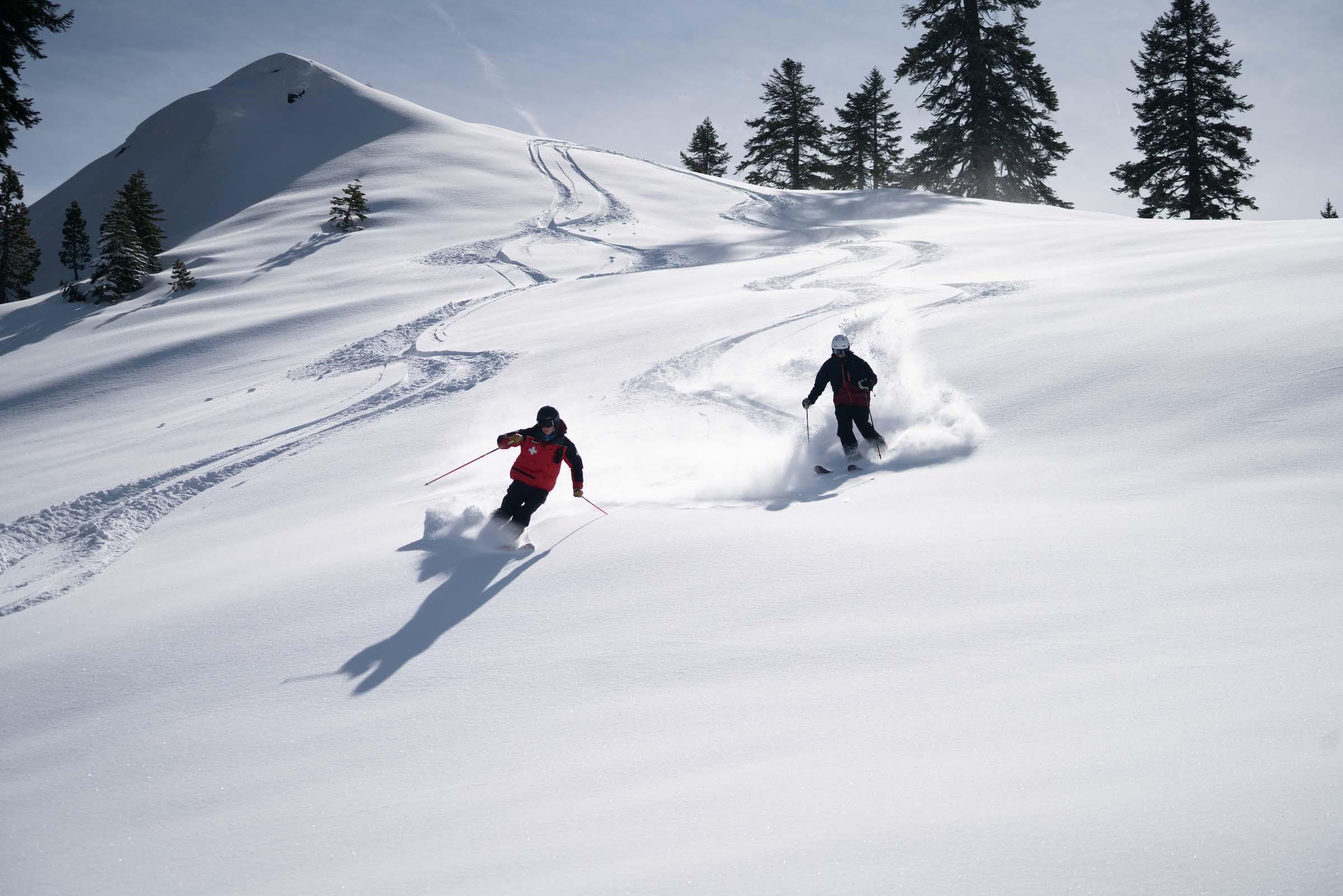 China Peak CA skiing