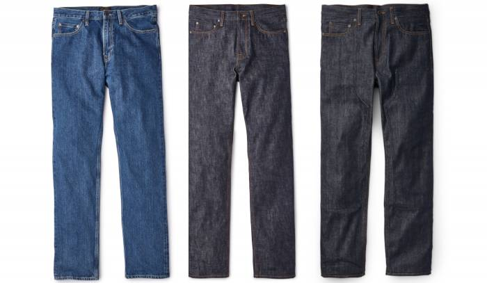 Filson Jeans Fronts