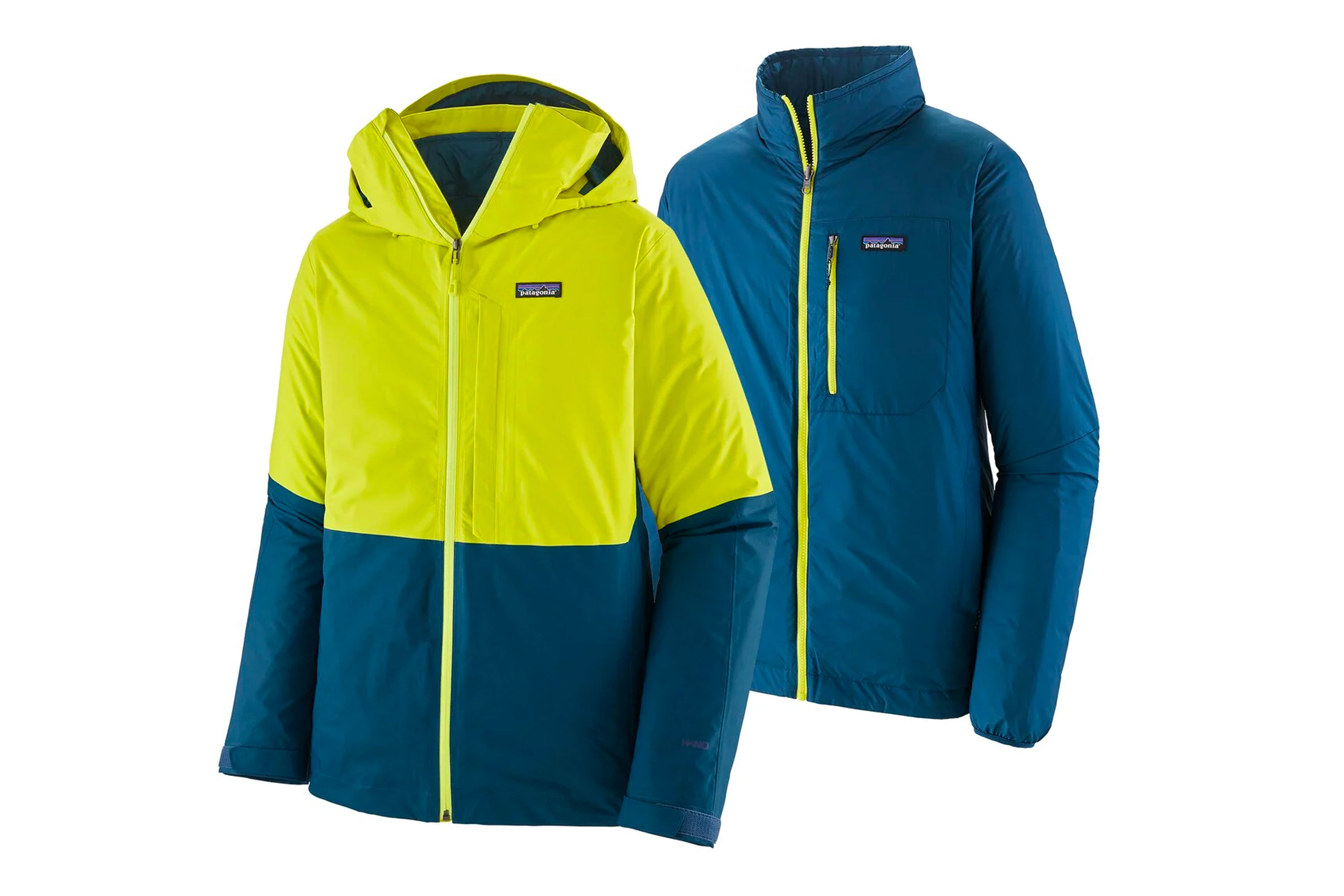 mens ski jacket: patagonia 3-in-1