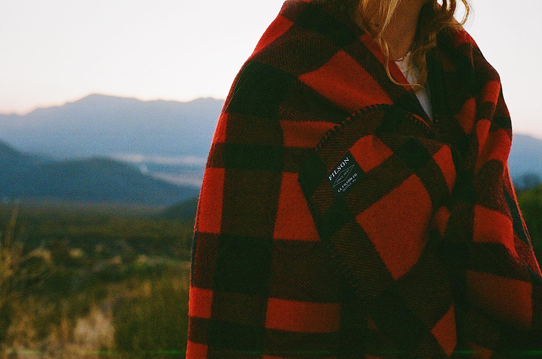 Made in the U.S.: Filson Mackinaw Wool Blanket