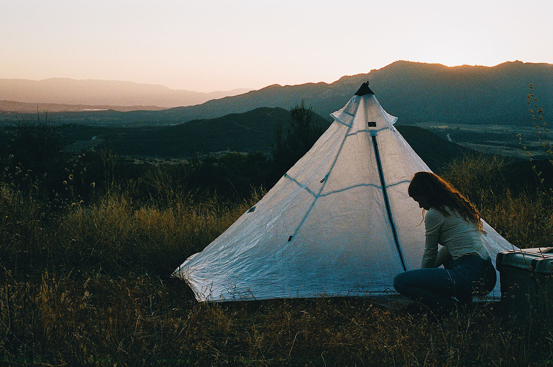 Ultralight Pyramid Tent