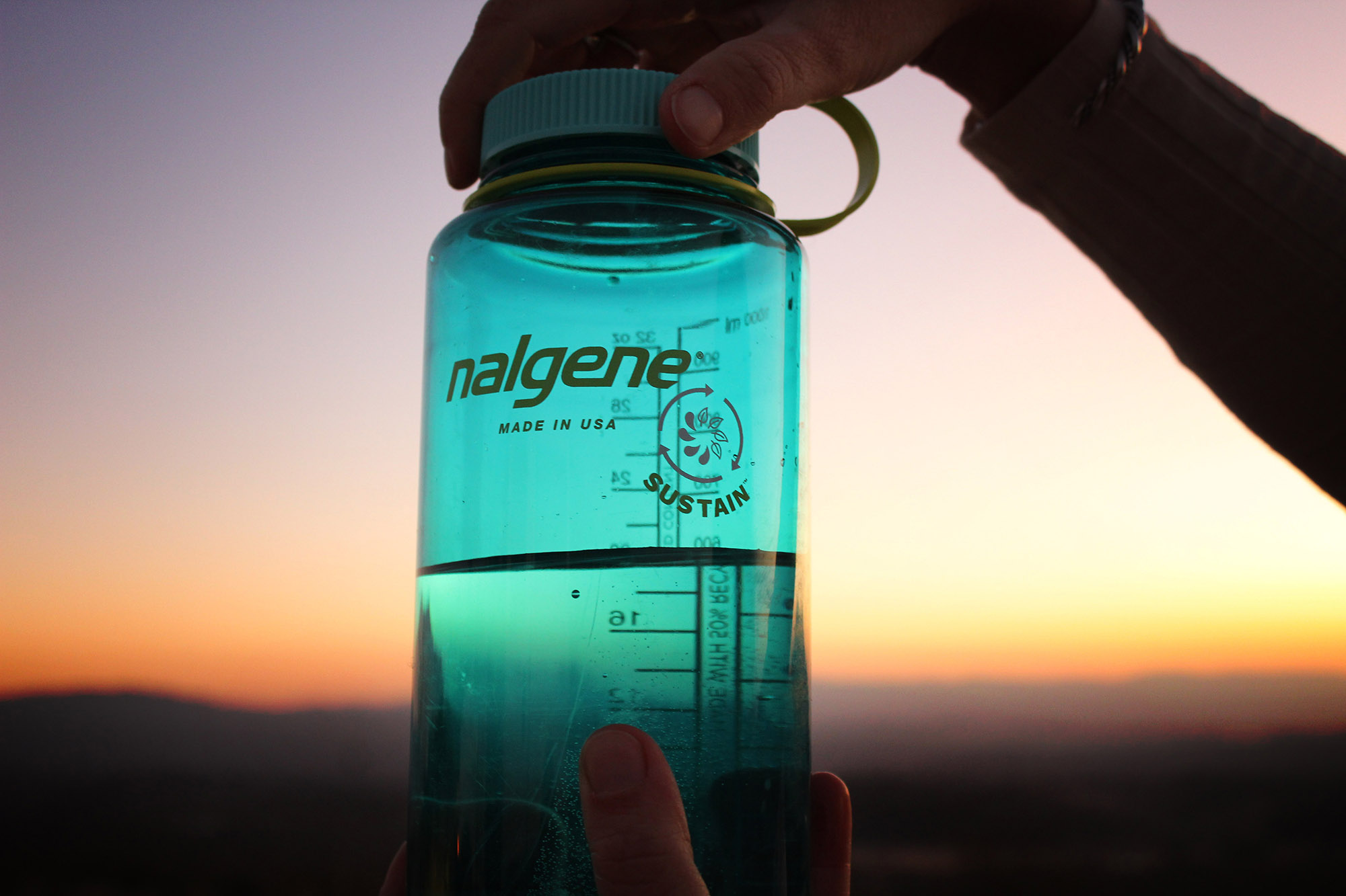 Nalgene 32oz Wide Mouth Sustain