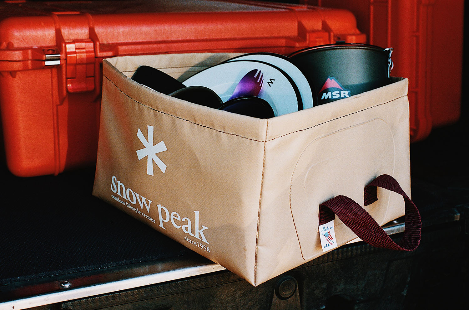 Hergestellt in den USA: Snow Peak Pack Bucket