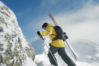 Tobi Tritscher Alps skiing