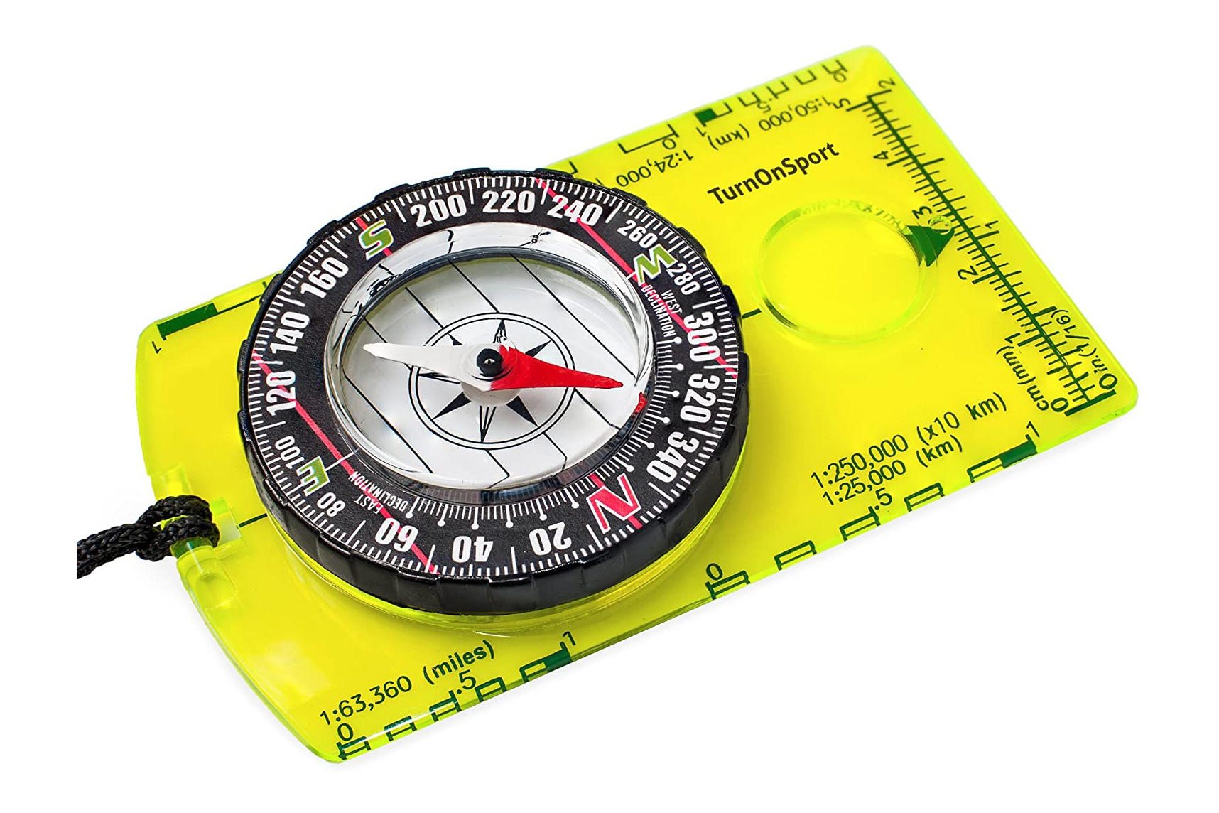 TurnOnSport Orienteering Compass